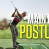 Hit it pure more consistently by retaining your posture