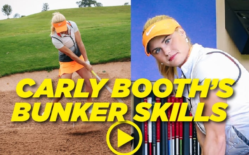 Bunker ball position with Carly Booth