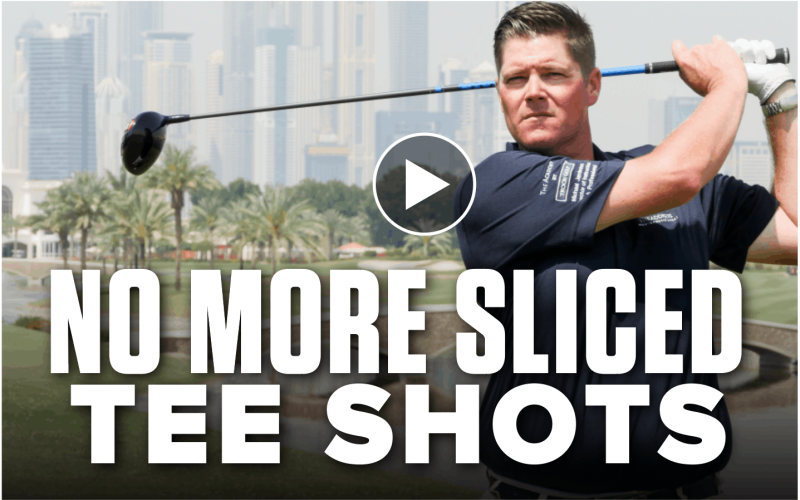How to cure unwanted sliced tee shots