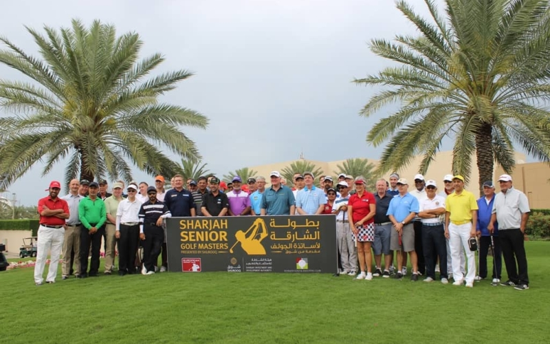 Local Golfers And Amateurs Set To Fight For Spot In Sharjah Senior Golf Masters Presented By Shurooq