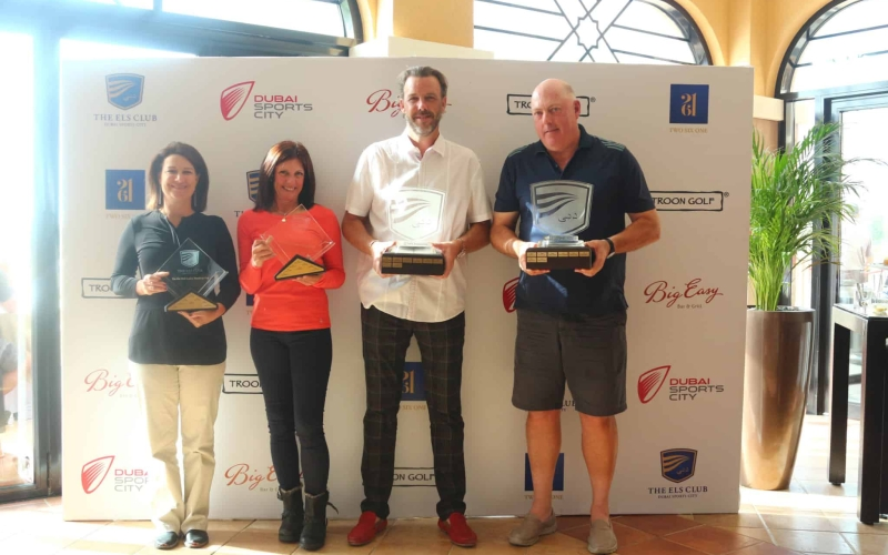 Paul Moir and Lise Slane crowned Club Champions