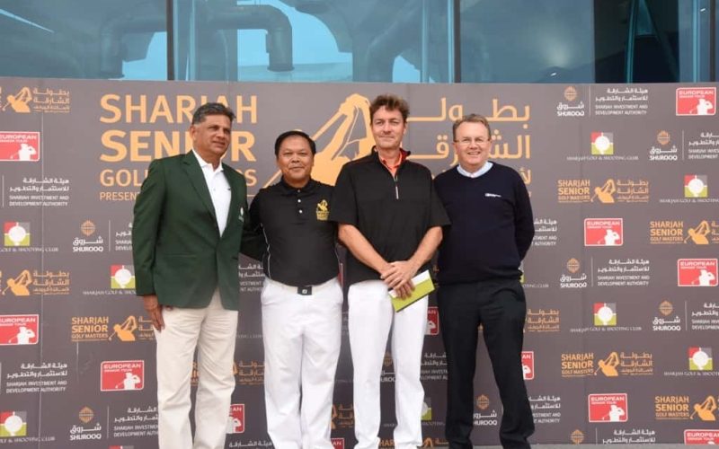 Sulaiman and Larsen clinch Sharjah Senior Golf Masters Spots presented by Shurooq
