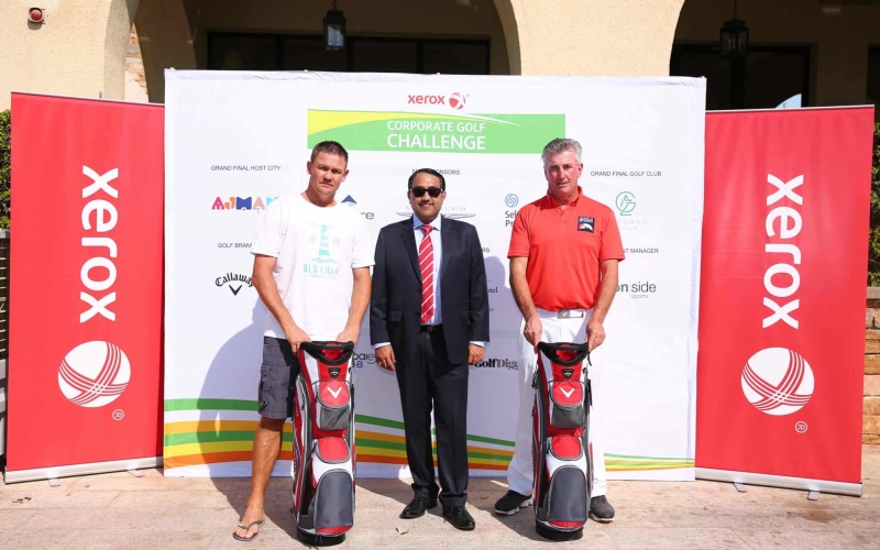McCarthy And Webb claim Xerox Corporate Golf Challenge