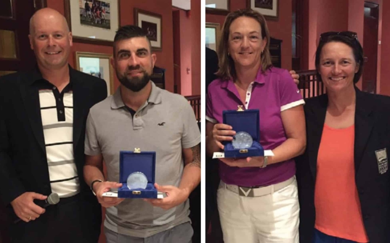Birch and McKelvey prevail in Rivoli Monthly Medal
