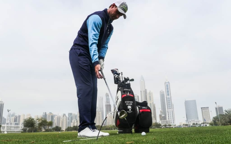 Keep It Vertical with Emirates Golf Club's Stephen Deane