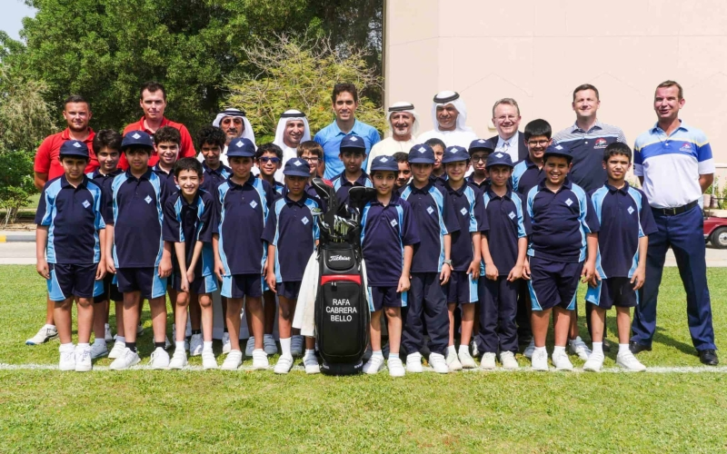 DP World nurturing golf's next generation by supporting the Emirates Golf Federation's UAE National and Foundation Squads at ETPI