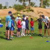 Coaching golf's future at Trump International Golf Club, Dubai