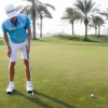 One-Hand Putting – Importance of keeping the putter face square