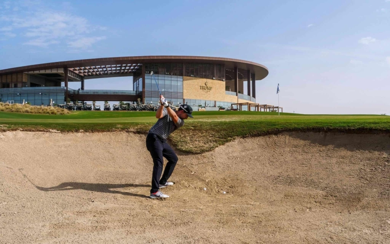 Master the bad lie in a bunker