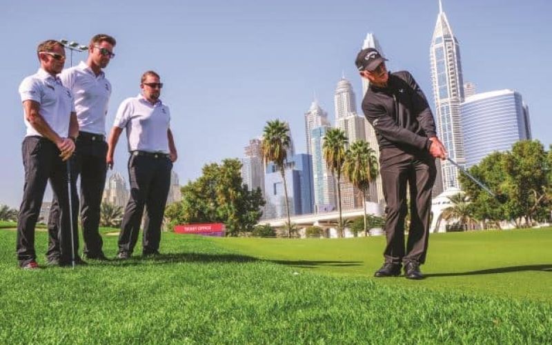 Pete Cowen drill – Helping Louis Oosthuizen with his chipping