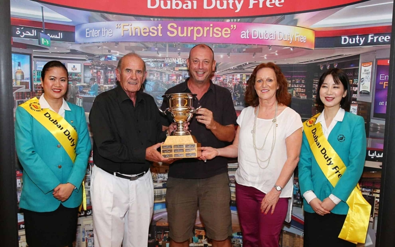 Jonathan Eastmead Wins the 25th Dubai Duty Free Golf Cup
