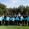 Emirati students enjoy exclusive golf clinic from stars of the Challenge Tour at Ras Al Khaimah Challenge Tour Grand Final