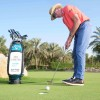 David Leadbetter's resistance putting drill at JA The Resort