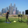 Heel Toe Stomp improves swing efficiency | By Jonathan Craddock (Emirates Golf Club)