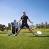 Wide stance drill | by Stephen Deane (Emirates Golf Club)