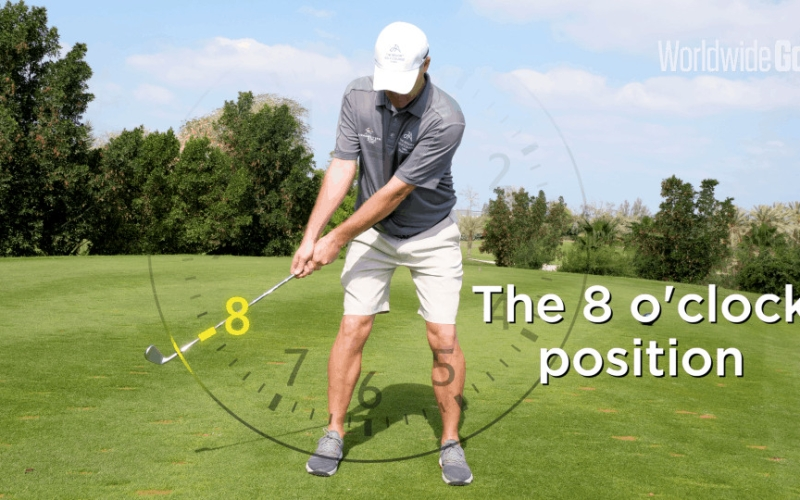 Why the Eight O'Clock position is a key swing indicator | By Stuart Fee (JA The Resort)