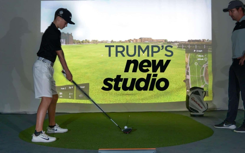 Trump, Dubai unveil two state-of-the-art Indoor Academies