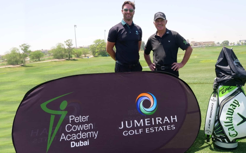 Stephen Deane: Flourishing in new role at Jumeirah Golf Estates