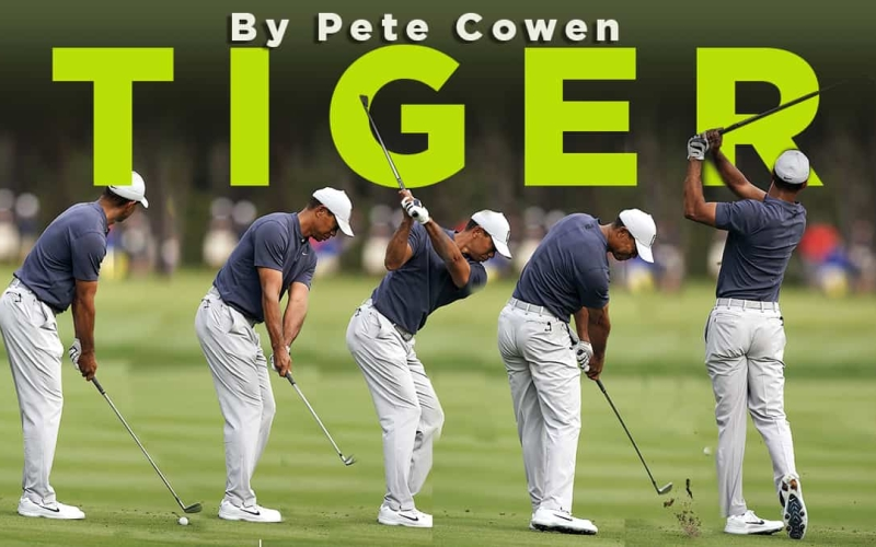 TIGER'S MASTERS SWING by PETE COWEN
