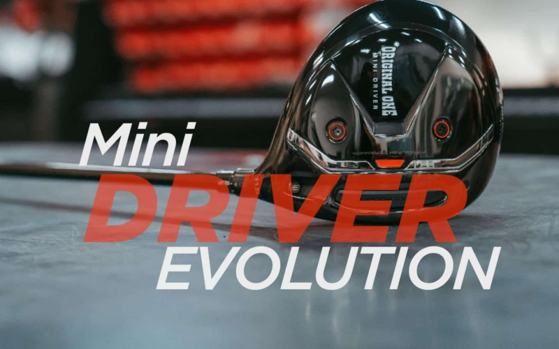 The evolution of the TaylorMade Mini Driver