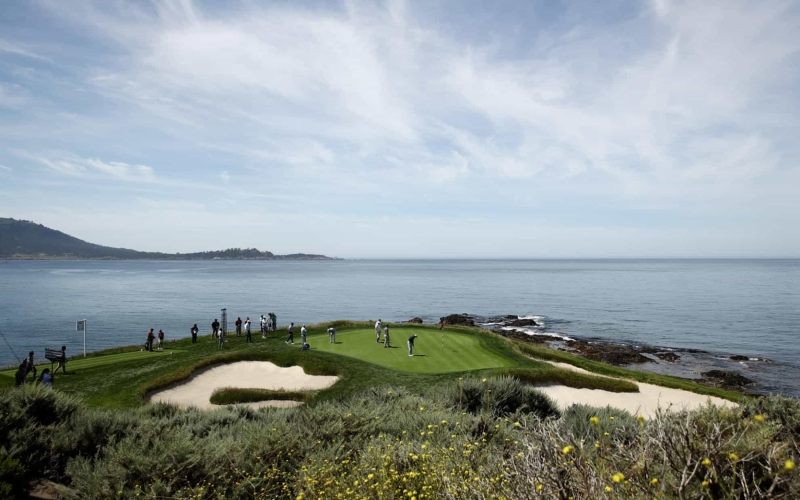 Pebble Beach Golf Links set to welcome world's best for US Open