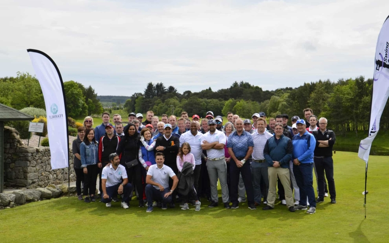 Barnes helps raise over US$15,000 for Clan Cancer Support at Fearnley International Open in Aberdeen