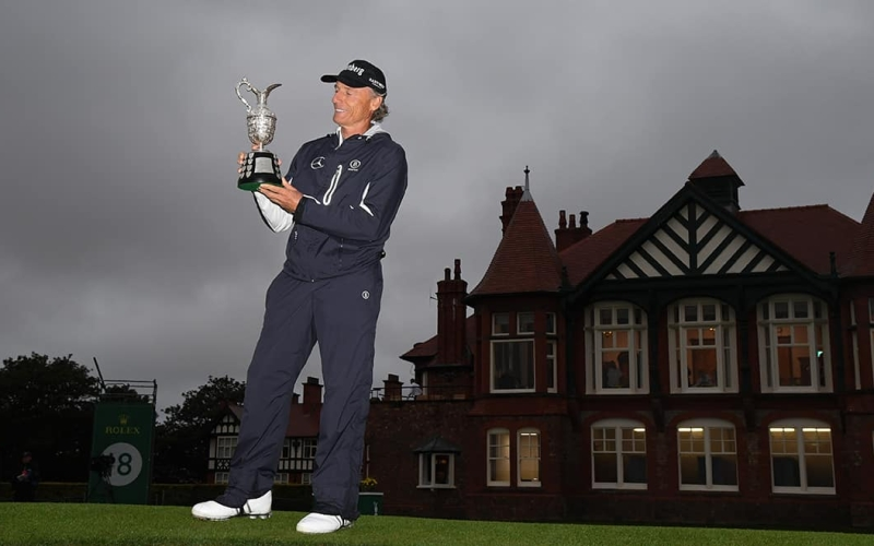 Bernhard Langer's legend continues to grow with fourth Senior Open title