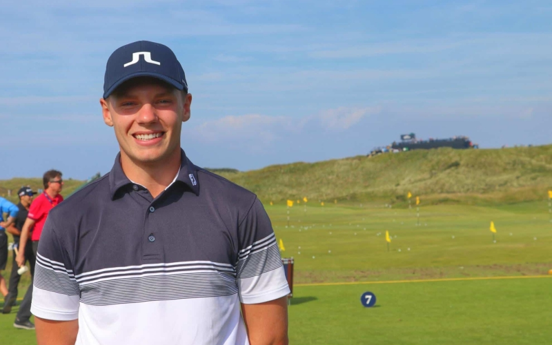 18 year old MENA Tour star Knipes looks to extend his dream run at The Open