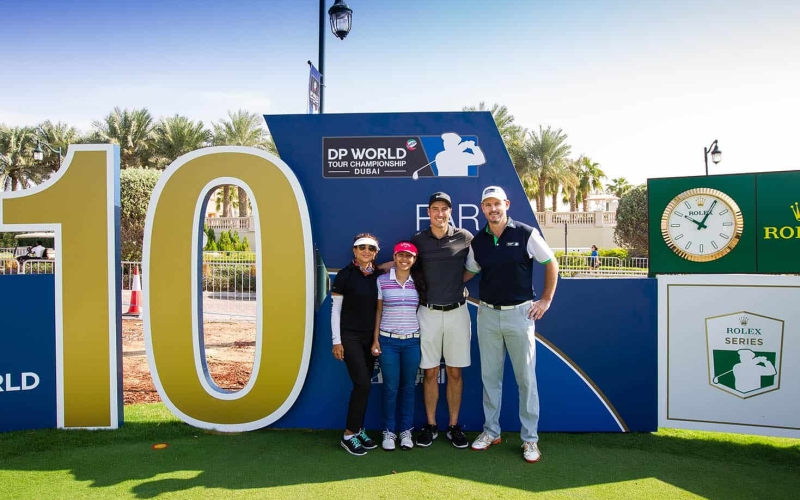Amateur golfers gearing up for the return of DP World Tour Championship Luckiest Ball On Earth competition