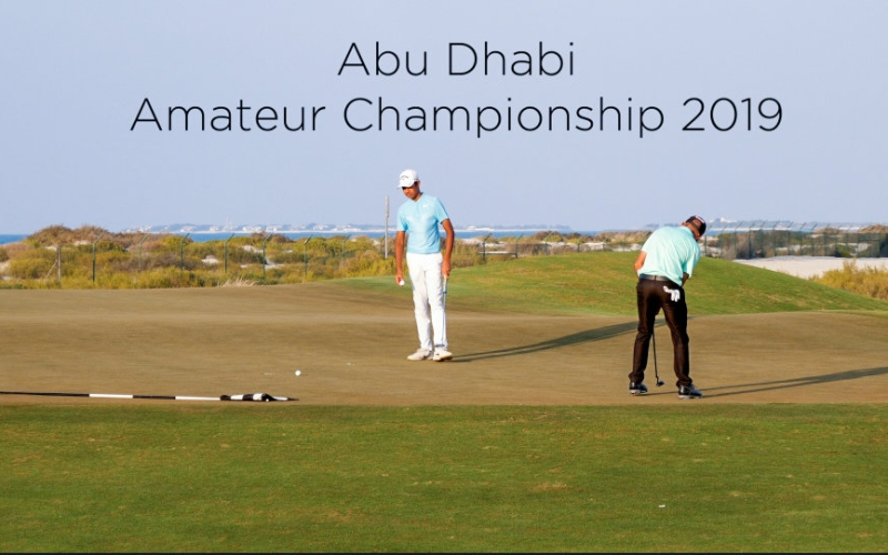 The Abu Dhabi Amateur Championship is back with a bang