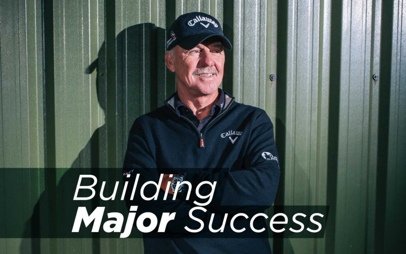 Pete Cowen – Building Major Success