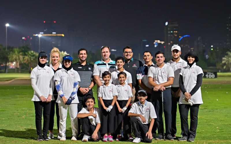 DP World renews its support of the Emirates Golf Federation