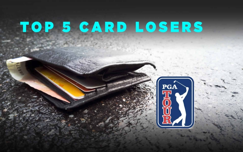 Top 5 Biggest Names To Lose Their PGA TOUR Card