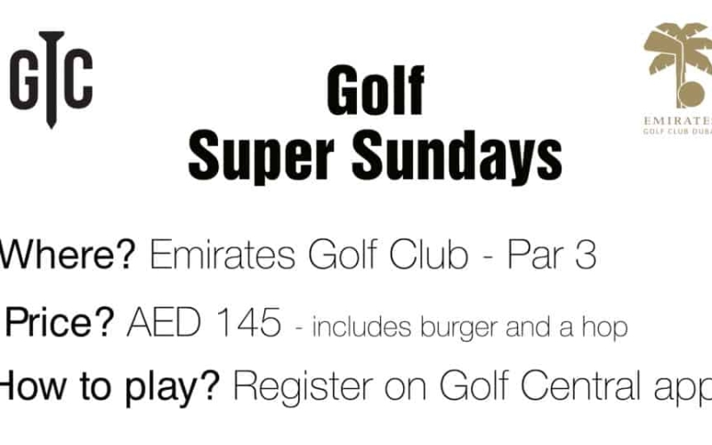 Golf Super Sunday: Is this the best golf offer in Dubai?