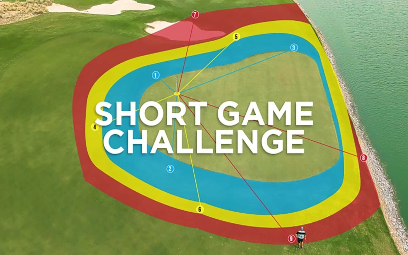 Par 18 Short Game Challenge | by Ross McArthur (Trump International, Dubai)