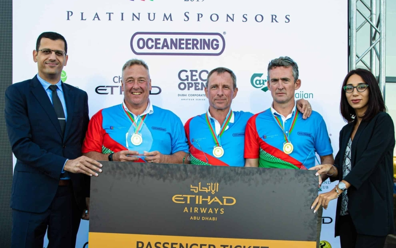 Quartet seal Abu Dhabi golf break at Azerbaijan Open