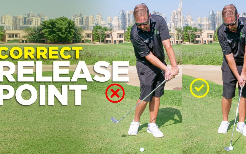 Correct release off your belt loop! | By Alastair Brown (Emirates Golf Club)