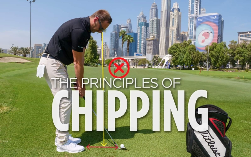 Principles of chipping | by Mark Bruce (Emirates Golf Club)