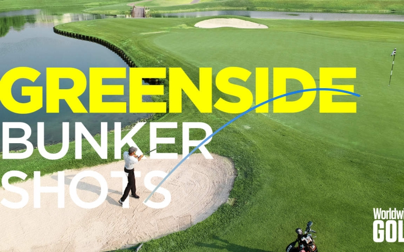 Make greenside bunker shots look easy  | by Michael Harden (Address Montgomerie)