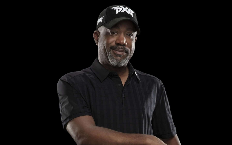 Darius Rucker – On track with PXG