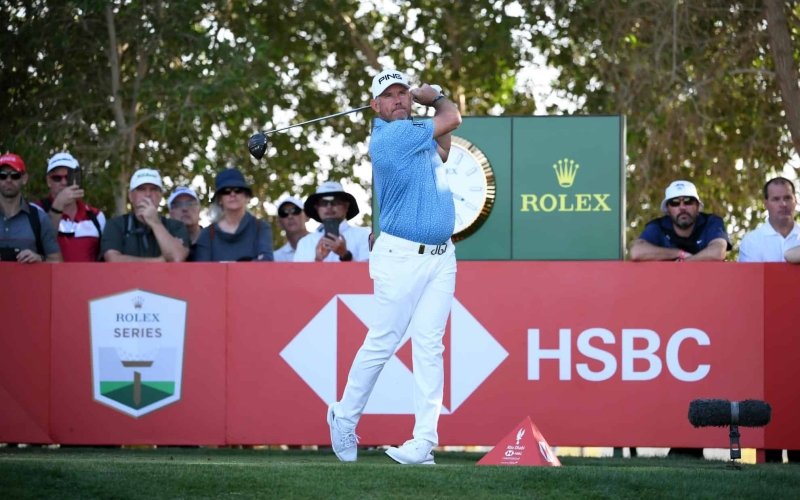 Lee Westwood holds one-shot lead over Laporta and Wiesberger in Abu Dhabi