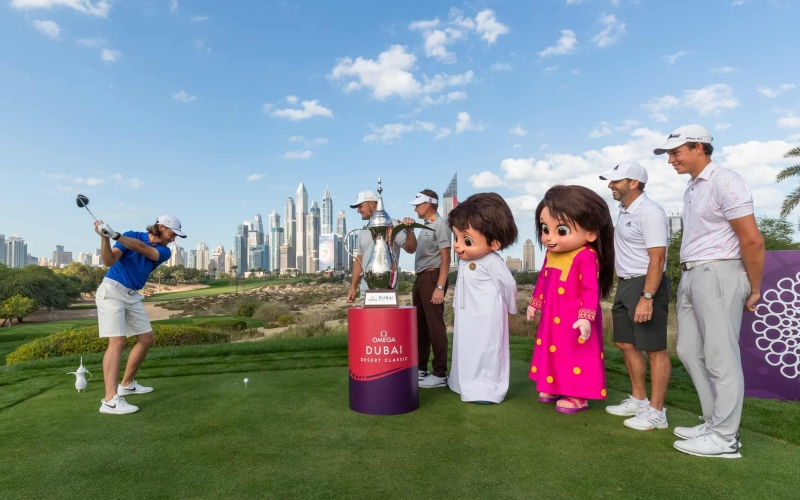 Expo 2020 joins forces with OMEGA Dubai Desert Classic