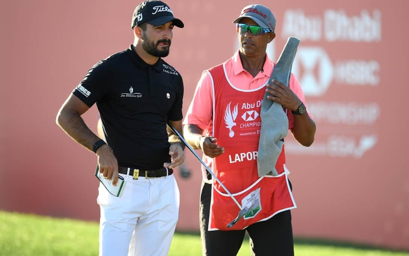 Francesco Laporta leads with Fitzpatrick and Cabrera Bello ready to pounce in Abu Dhabi