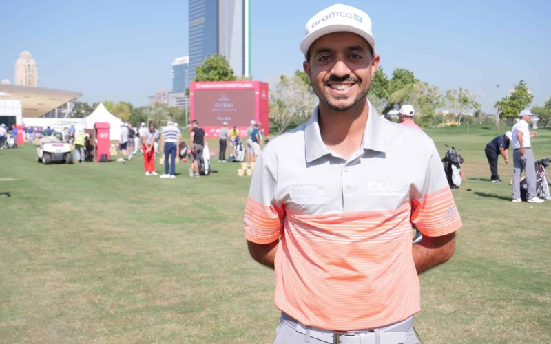 Saudi's first pro Othman Almulla relishing Dubai Desert Classic return after 13 years