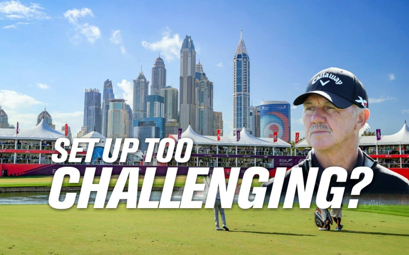 Pete Cowen: Rough result for Dubai Desert Classic – But why change the formula?