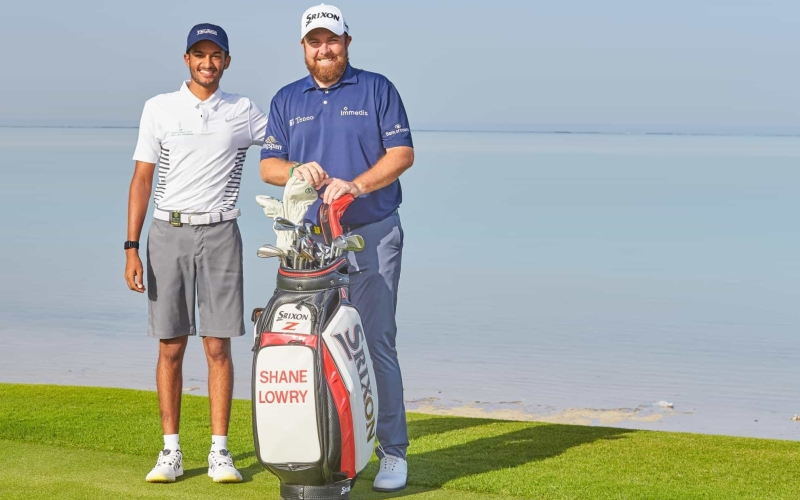 Open Champion Lowry lends a helping hand to Saudi's leading amateur