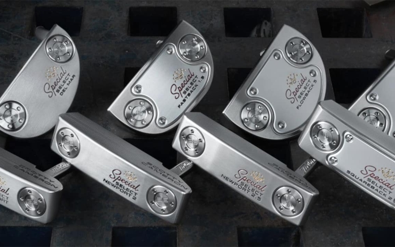 FIRST LOOK: Scotty Cameron Special Select putter line