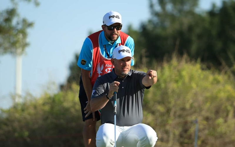 Lee Westwood gets back to business in Dubai