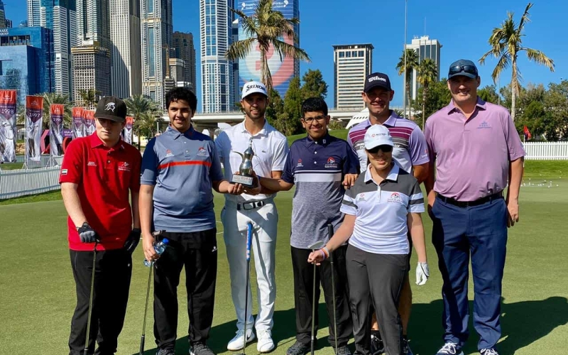 UAE Special Olympics Golf team receive clinic from European Tour stars