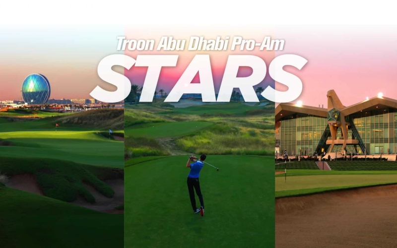 High profiles starring in the Troon Abu Dhabi Pro-Am 2020